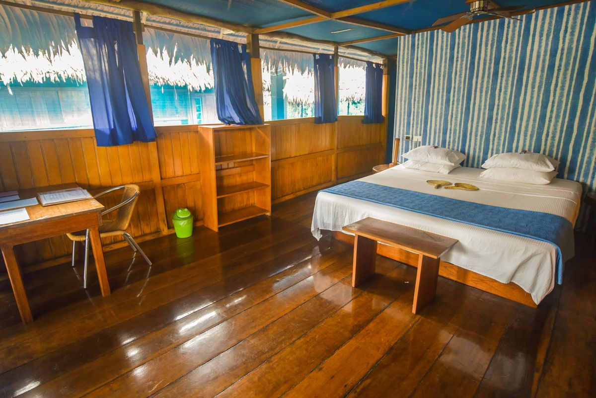 Muyuna Amazon Lodge - Habitaciones Bungalows - Arquitectura en base a la naturaleza